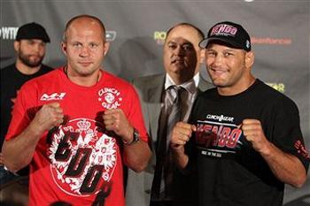 Бой Федора Емельненко и Дэна Хендерсона состоится 30 июля. Фото:Josh Hedges/Forza LLC/Forza LLC via Getty Images
