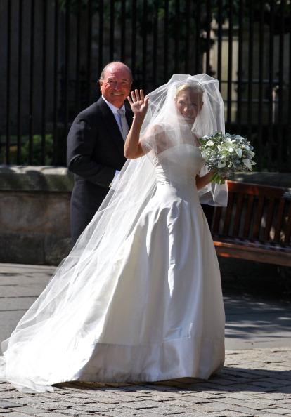 Фоторепортаж  о свадьбе внучки королевы Елизаветы II Зары Филиппс. Фото: Chris Jackson PT /Jeff J Mitchell/Getty Images