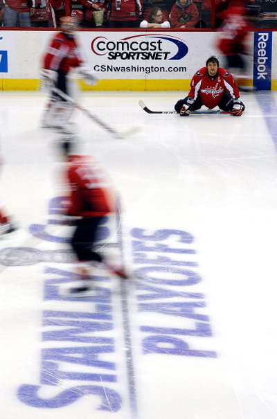 Фоторепортаж. Гол Овечкина продлил игру  «Вашингтона» с «Тампой-Бэй», но не спас от поражения. Фото: Greg Fiume/Getty Images