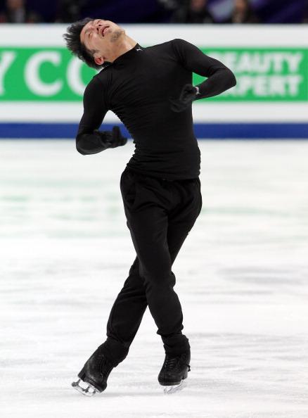 ЧМ по фигурному катанию. В «Мегаспорте» прошли первые тренировки. Фото:  Oleg Nikishin/Epsilon/Getty Images