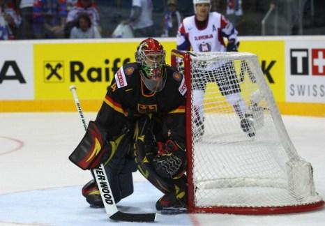 Фоторепортаж.  Сборная Германии по хоккею выиграла у Словении  со счетом 3:3. Фото: Martin Rose/Bongarts/Getty Images