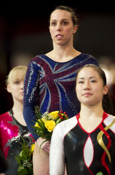 Татьяна Набиева завоевала серебро  на ЧЕ-2011 по спортивной гимнастике в Германии. Фоторепортаж. Фото: JOERN POLLEX, JOHN MACDOUGALL/Bongarts/Getty Images