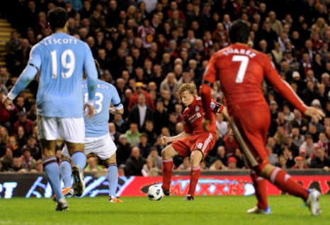 Чемпионат Англии: «Ливерпуль»  - «Манчестер Сити» – 3:0. Фоторепортаж. Фото: Michael Regan /AFP/Getty Images