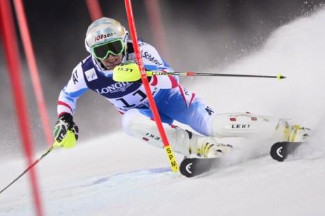 В скоростном спуске среди мужчин победил австриец Маттиас Майер. Фото: FABRICE COFFRINI/AFP/Getty Images