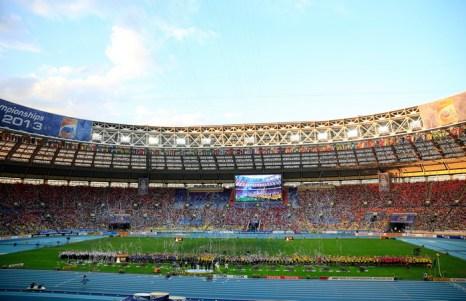 Московский чемпионат мира по лёгкой атлетике побил рекорд посещаемости — за восемь дней стадион «Лужники» посетили более 270 тысяч болельщиков. Фото: Jamie Squire/Getty Images