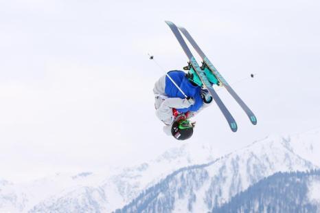 Томичка Анна Миртова на квалификации Олимпийских игр по ски-слоупстайлу в Сочи 11 февраля 2014 года. Фото: Cameron Spencer/Getty Images