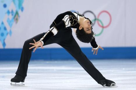 Майкл Кристиан Мартинес из Филиппин исполняет короткую программу на Олимпиаде в Сочи. Фото: Matthew Stockman/Getty Images
