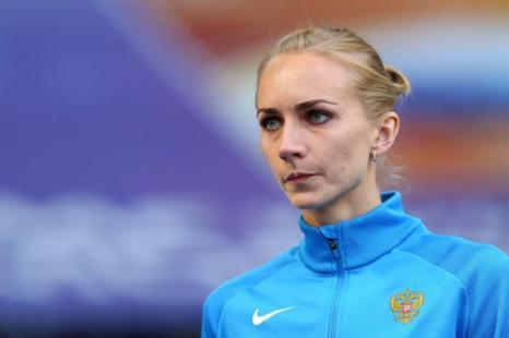 Россиянка Светлана Школина смогла взять высоту 2 метра 3 сантиметра, установив личный рекорд в карьере на чемпионате мира в московских «Лужниках» 17 августа 2013 года. Фото: Cameron Spencer/Getty Images
