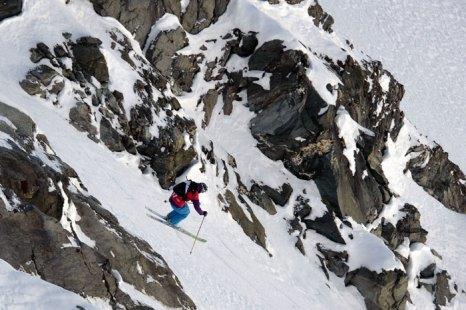 Вербье — горнолыжный курорт, расположен в Южной Швейцарии (франкоязычная часть кантона   Вале) и входит в область катания «4 долины», где более 400 км подготовленных трасс с   единой сетью подъемников. Фото: FABRICE COFFRINI/AFP/Getty Images