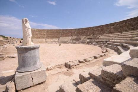 Амфитеатр Куриум, Пафос, Кипр. Фото: David Stuckey/Photos.com