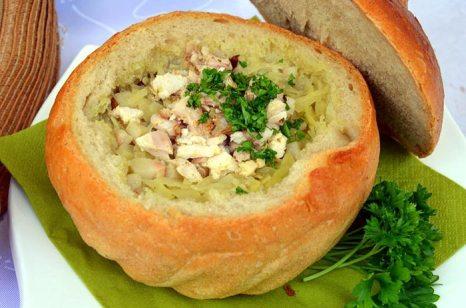 Картофель с мясом в хлебе. Фото: Silar/commons.wikimedia.org