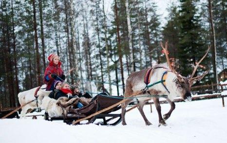 Зимой в Финляндии. Фото: JONATHAN NACKSTRAND/AFP/Getty Images
