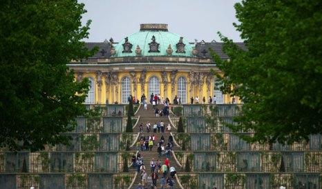 Потсдам — вторая резиденция прусского королевства, в бранденбургской провинции, Германия. Фото: JOHANNES EISELE/AFP/Getty Images