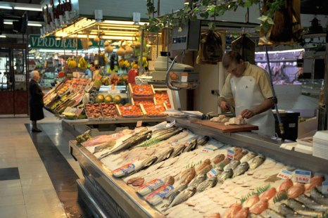 Продуктовый рынок, Испания. Фото: PEDRO ARMESTRE/AFP/Getty Images