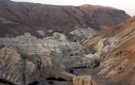Иудейская пустыня — пустыня на Ближнем Востоке, располагающаяся на территории Израиля, на западном побережье Мёртвого моря. Фото: Kreecher/commons.wikimedia.org