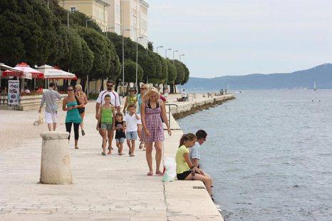 Город Задар - административный и культурный центр Северной Далмации и один из крупнейших городов Хорватии. Фото: Jаnos Tamаs/commons.wikimedia.org