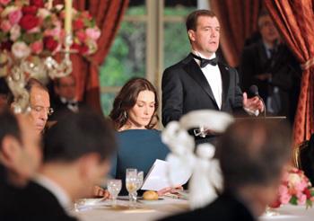 Дмитрий Медведев завершает визит во Францию.Фото: MIGUEL MEDINA/AFP/Getty Images