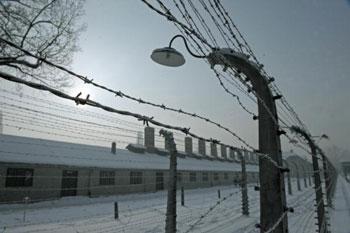 Лагерь Освенцим. Фото: JANEK SKARZYNSKI/AFP/Getty Images