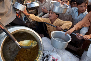 Гуманитарная помощь.Фото: Paula Bronstein/Getty Images