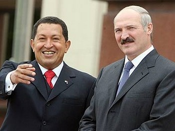 Уго Чавес и Александр Лукашенко. Фото с gtmarket.ru