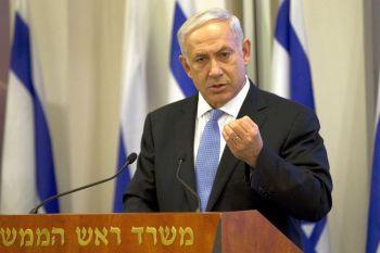 Премьер-министр Израиля Биньямин Нетаньяху в пятницу приветствовал заявление египетской армии о том, что она будет продолжать соблюдать мирное соглашение между Израилем и Египтом. Фото: Jack Guez /AFP /Getty Images