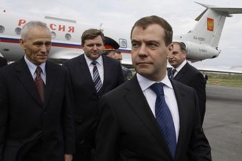 Президент России Дмитрий Медведев. Фото: net.kirov.ru