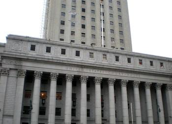 Здание суда Южного округа Нью-Йорка. Фото Sheila