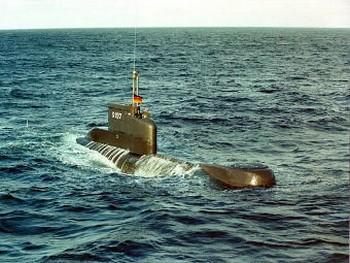 ДЭПЛ класса U-206A ВМС Германии. Фото с militaryphotos.net