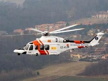 Вертолет морских спасателей Испании. Фото с lenta.ru