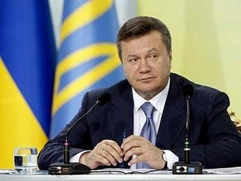Виктор Янукович. Фото пресс-службы президента Украины