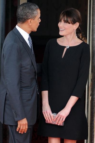 «Женский» саммит проводится в Довиле У супруг лидеров G8во французском. Фото:Pool/Getty Images