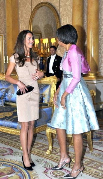 Фоторепортаж о встрече  Барака и Мишель Обама с принцем Уильямом и Кейт Миддлотон Фото: Toby Melville - WPA Пул / Getty Images