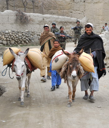 Афганистан. Фото: KIM JAE-HWAN/AFP/Getty Images