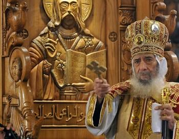 В Египте расстреляли 7 прихожан. Рождественская служба в Египте. Фото: AFP/Getty Images