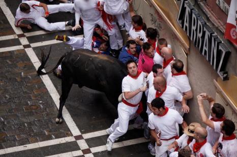 Праздник Сен Фермин в Памплоне 8 июля 2012 г. Фото: Pablo Blazquez Dominguez/Getty Images)