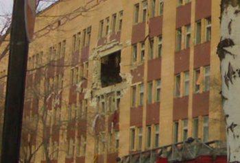 Украина: В Луганской больнице взорвался газ: пострадавших очень много. Фото с сайта  podrobnosti.ua