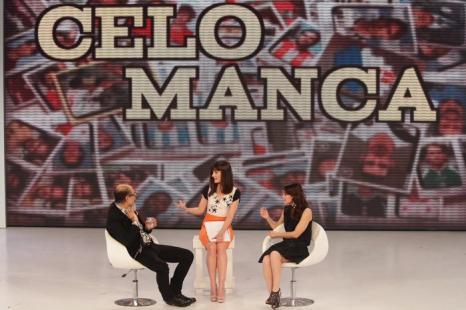 Алессандра Мастронарди  на телешоу Quelli Che il Calcio в Милане. Фоторепортаж. Фото: Vittorio Zunino Celotto/Getty Images