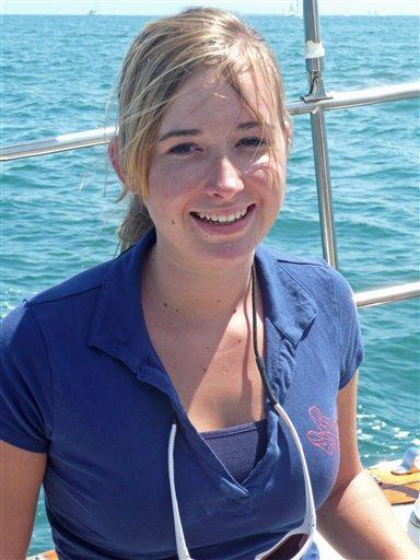 Эбби Сандерленд  Фото с сайта abbysunderland.com