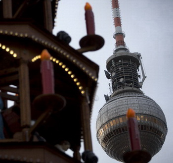На Новый год в Германии не будет снега. Фото:   DAVID GANNON/AFP/Getty Images