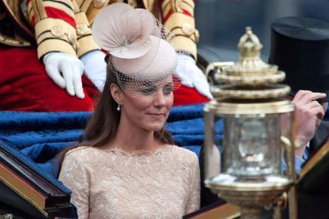 Екатерина, герцогиня Кембриджская, в честь празднования бриллиантового юбилея королевы Елизаветы II приветствует своих подданных. Фоторепортаж. Фото: Dan Kitwood/Getty Images