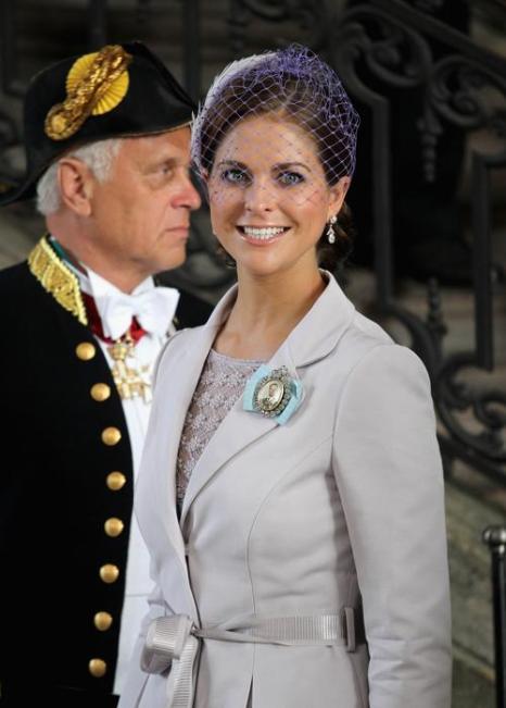 Крестины шведской принцессы Эстель.  Принцесса Мадлен из Швеции. Фоторепортаж. Фото: Chris Jackson/Getty Images