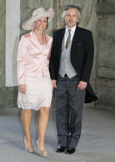 Крестины шведской принцессы Эстель.  Принцесса Марта Луиза из Норвегии и Ари Бен. Фоторепортаж. Фото: Chris Jackson/Getty Images