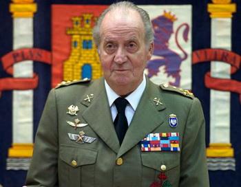 Король Испании в мероприятии Генерального штаба испанской армии. Фото: Carlos Alvarez/Getty Images