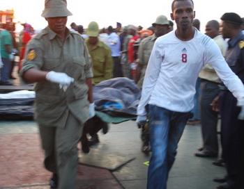 При крушении парома в Танзании погибло более 24 человек. Фото: ISSA YUSSUF/AFP/GettyImages