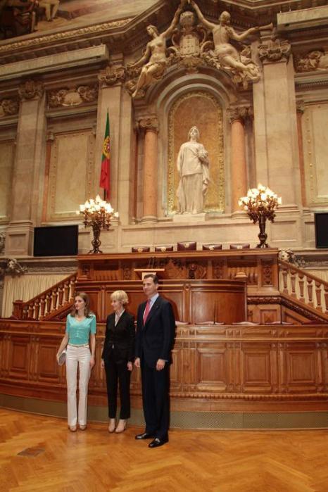 Принц и принцесса Испании Фелипе и Летиция с визитом в Португалии. Фоторепортаж. Фото: Alfredo Rocha/Getty Images