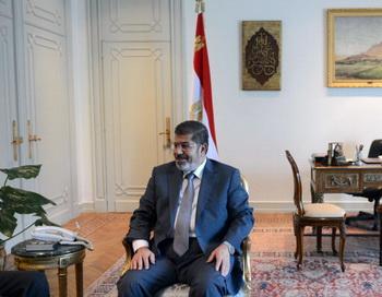 Мохаммед Мурси, президент Египта, в Каире, 8 июля 2012. Фото: KHALED DESOUKI/AFP/GettyImages