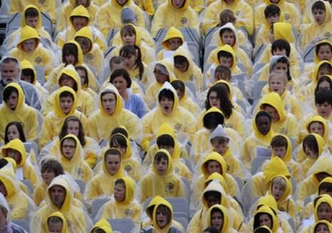 Сторонники Папы Римского Во время его визита в Великобританию. Фото: Christopher Furlong/WPA Pool/Getty Images
