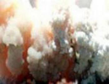 Взрыв в канадском Торонто во  время визита британской королевы Елизаветы II оставил город  без электричества. Фото с сайта ipfo.ru