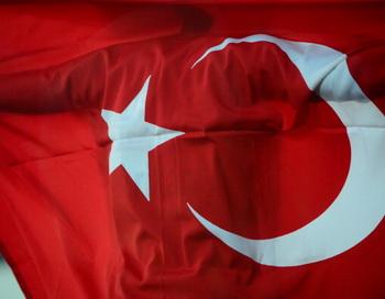 Флаг Турции.  Фото:  OLIVIER MORIN/AFP/GettyImages