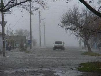 Первые жертвы урагана в Украине. Фото пресс-службы ГУ МЧС Волынской обл.